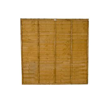 Forest Garden Premier 6ft Traditional Wooden Fence Panel