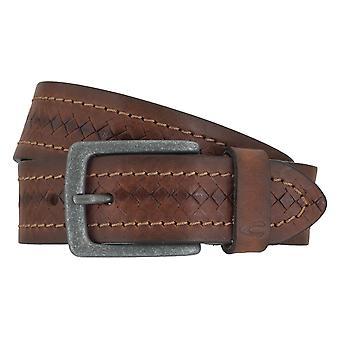 Camel active belts men's belts leather belt Brown 6908
