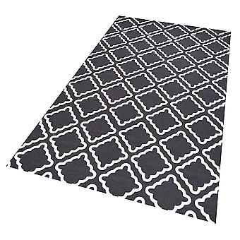 Vinyl floor protection mat Amy blue