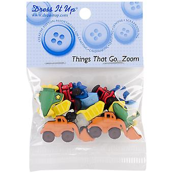 Dress It Up Embellishments-Things That Go Zoom