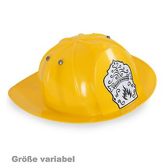 Yellow fire helmet fire fighter helmet