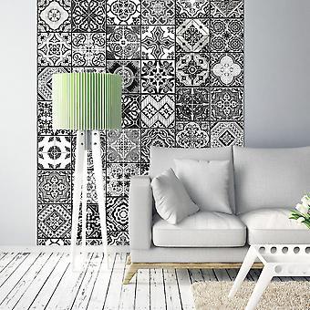 Wallpaper - Arabesque - Black& White