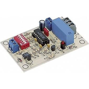 Timer Assembly kit Conrad Components 115975 9 Vdc, 12 Vdc 0.0084 s - 19.5 h