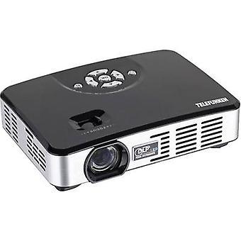 Telefunken DLP400 projektor LED ANSI lumen: 400 lm 1280 x 800 WXGA 1000: 1 czarny, srebrny