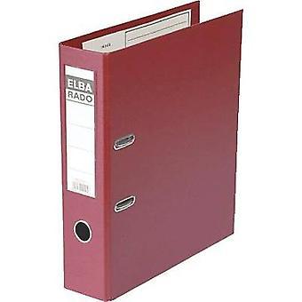Elba Folder A4 Spine width: 80 mm Red