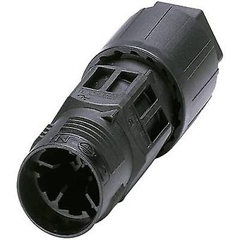 Phoenix Contact 1403834 Bullet connector Wire connector Series (connectors): QUICKON Total number of pins: 4 + PE 1 pc(s