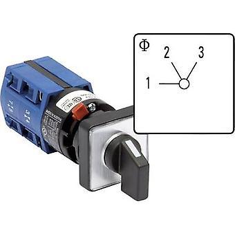 Kraus & Naimer CG4 A230-600 FS2 Uniselector 10 a 2 x 60 ° grå, svart 1 eller flere PCer