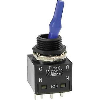 NKK Switches TL22SCAG015C Toggle switch 250 V AC 3 A 2 x On/On latch 1 pc(s)