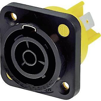 Mains connector powerCON Series (mains connectors) powerCON Socket, vertical vertical Total number of pins: 2 + PE 16 A Black Neutrik NAC3FPX 1 pc(s)