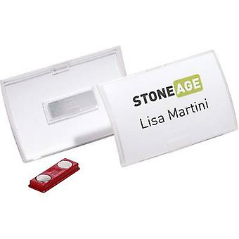 Durable 8215-19 Name badge Paper size=90 x 54 mm (W x H) 10 pcs/pack.
