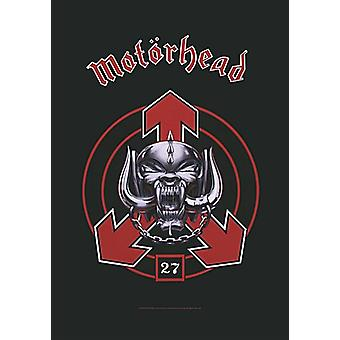 Motorhead 27 Large Fabric Poster / Flag 1100Mm X 750Mm