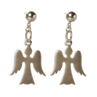 Gemshine - kvinna - barn - örhängen - 925 Silver - Angel - 2 cm
