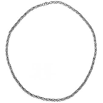King chain stainless steel 50 cm necklace chain carabiner
