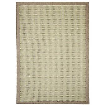 Buiten tapijt voor terras / balkon groen Essentials chrome groen 200 / 290 cm tapijt binnen / buiten - voor binnens- en buitenshuis
