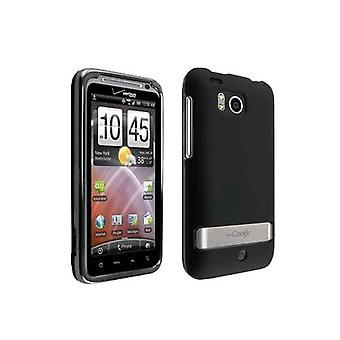 OEM Verizon HTC Thunderbolt 6400 Snap-On Hard Case (Black) (emballage en vrac)
