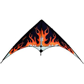 Eolo sport Pop-up Stunt Kite - fiamma