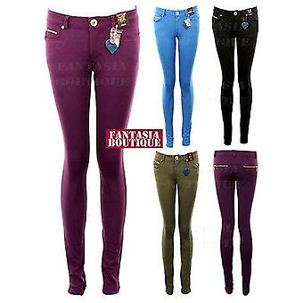 Neue Damen Skinny Fit Qualität Jeggings Damen Jeans Slim Trouser