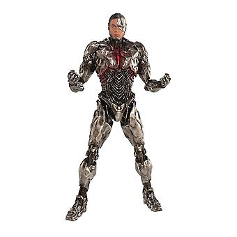 Justice League cyborg ARTFX + statue made of plastic (PVC & ABS), scale 1:10, manufacturer: Kotobukiya.