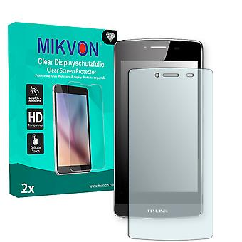 TP-Link Neffos C5 Screen Protector - Mikvon Clear (Retail Package with accessories)