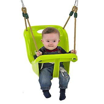 TP Early Fun Baby Swing Seat Lime Green Ages 6 Months-3 Years
