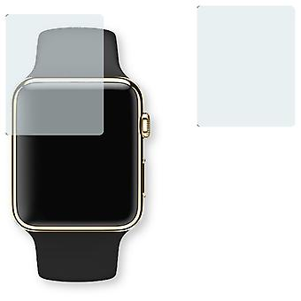 Apple Watch Edition 38mm screen protector - Golebo Semimatt protector (deliberately smaller than the display, as this is arched)