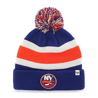 47 fire Knit Beanie - breakaway New York Islanders royal