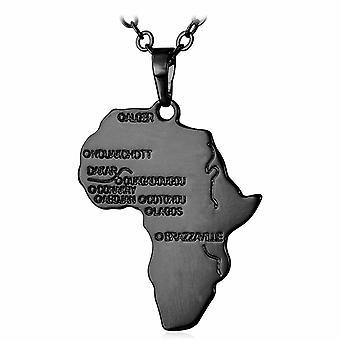 U7 Afrikahalsband-zwart