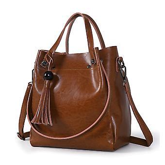Handbag in genuine cow leather K322