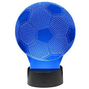 3D LAMPE FUßBALL
