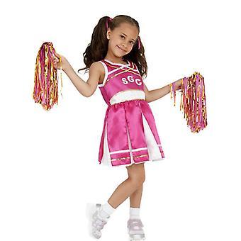 Cheerleader Costume, bambino, medio età 7-9