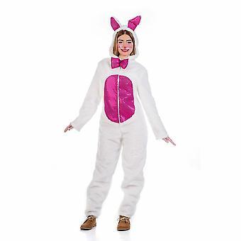 Lady lucky Bunny traje traje de Bunny conejo peluche mono mujer