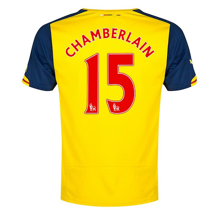 2014-15 Arsenal Away Shirt (Chamberlain 15) - Kids