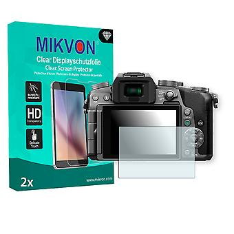 Panasonic Lumix DMC-G70 Screen Protector - Mikvon Clear (Retail Package with accessories)
