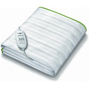 Monogram Ecologic Electric Heated Mattress Cover By Beurer | Tie Down; 3 Heat Settings | Double