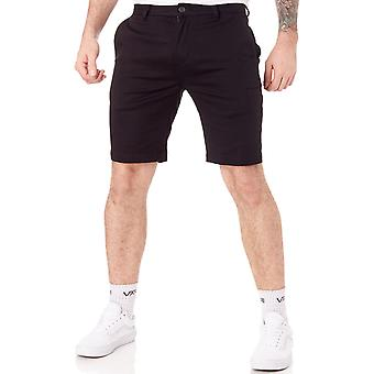 Etnies Black SP18 Essential Straight Chino Walkshorts