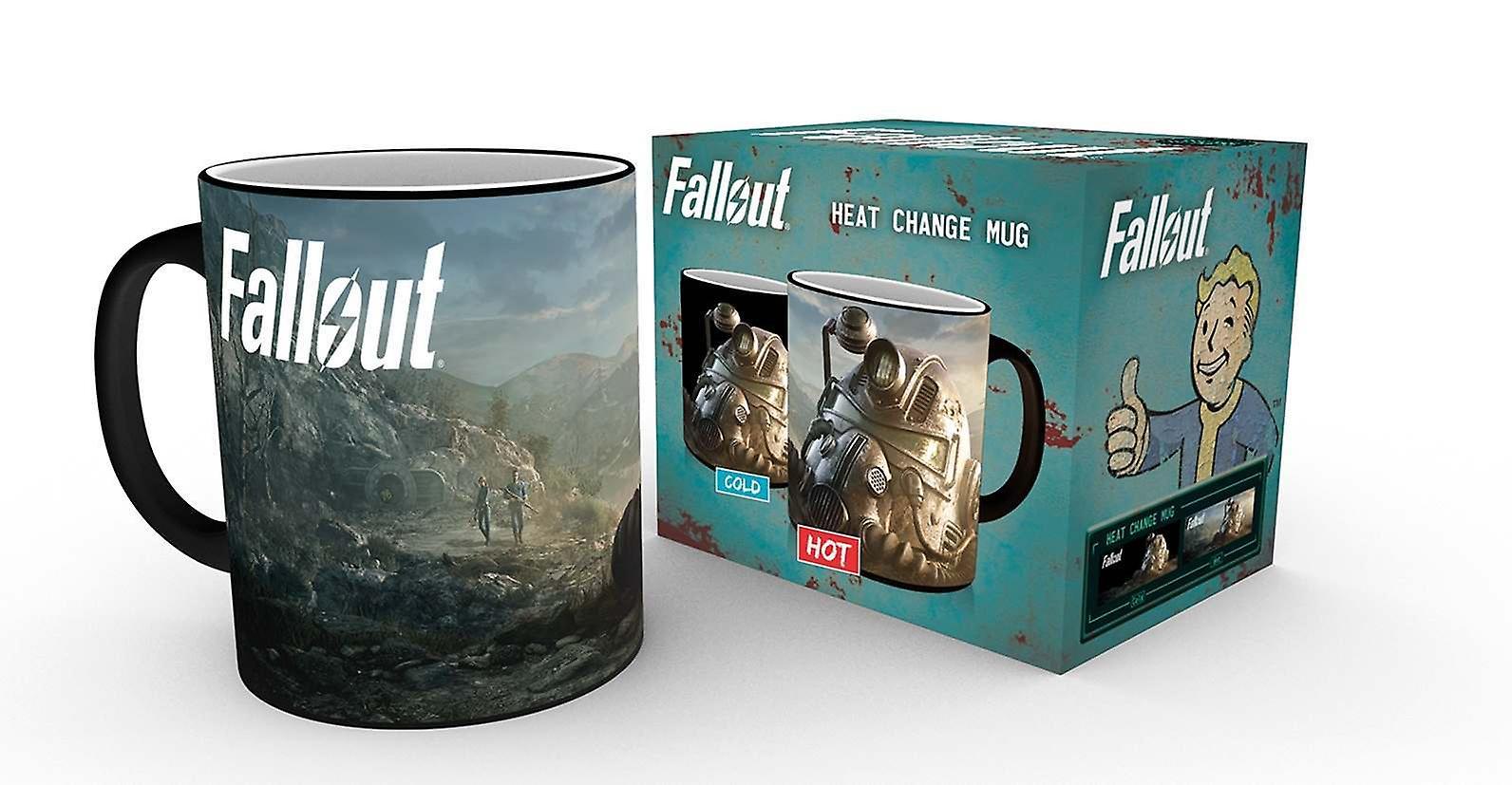 Fallout Dawn Changeant 76 Mug Chaleur TlJ3FKc1