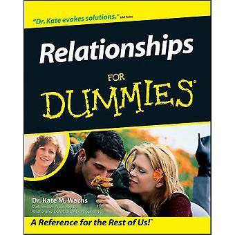 Beziehungen für Dummies von Kate Wachs - 9780764553844 Buch