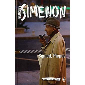 Signiert, Picpus: Inspector Maigret #23