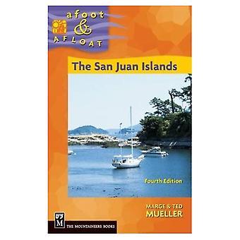 På gång &; flytande San Juan Islands
