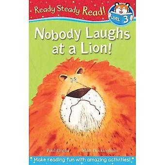 Personne ne rit à un Lion! (Lecture régulière prêt)