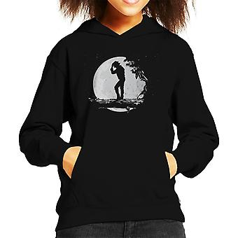 Michael Jackson maan silhouet Kid de Hooded Sweatshirt