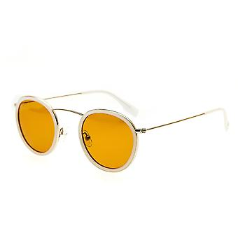 Simplify Jones Polarized Sunglasses - White/Brown