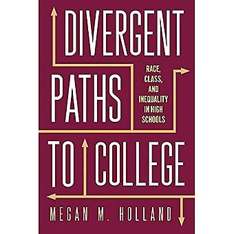 Divergent Paths to College:� Race, Class, and Inequality in High Schools (Critical Issues in American Education)