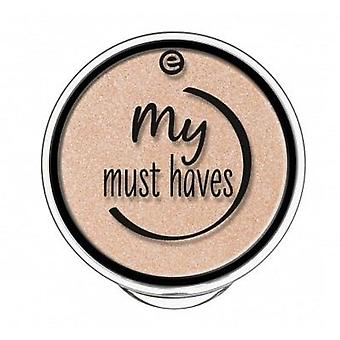 Essence Eye Shadow My Must Haves 01 go goldie! 1.7 gr (Makeup , Eyes , Eyeshadow)