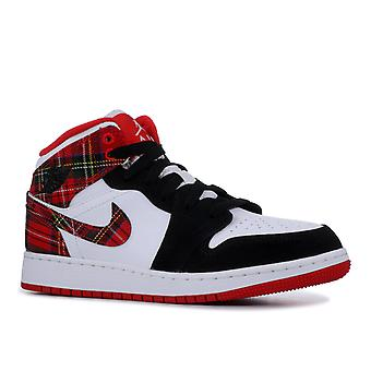 Air Jordan 1 Mid Gs - 554725-607 - Shoes