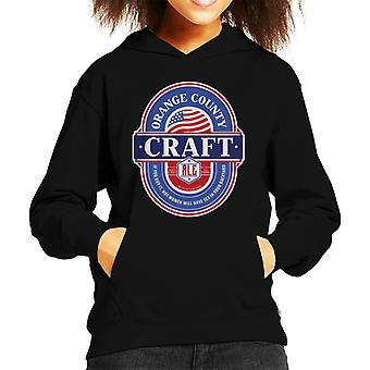 Orange County Craft Ale Kid's Hooded Sweatshirt