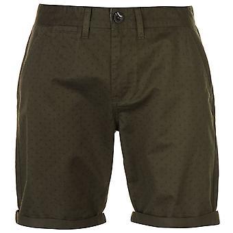 Pierre Cardin Mens Geo trykt Chino Shorts