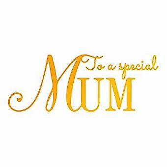 Artdeco Creations Hotfoil Stamp Special Mum (3.4 x 1.3in) (ULT158107)