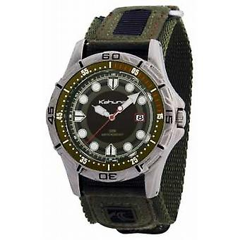Kahuna Kahuna Mens Green Velcro K5V-0003G Watch