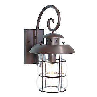Elstead Wrought Iron BIBURY Outdoor Wall Light Traditional